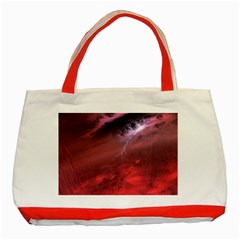 Storm Clouds And Rain Molten Iron May Be Common Occurrences Of Failed Stars Known As Brown Dwarfs Classic Tote Bag (red)