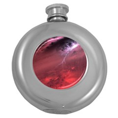 Storm Clouds And Rain Molten Iron May Be Common Occurrences Of Failed Stars Known As Brown Dwarfs Round Hip Flask (5 Oz)