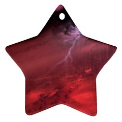 Storm Clouds And Rain Molten Iron May Be Common Occurrences Of Failed Stars Known As Brown Dwarfs Star Ornament (two Sides)