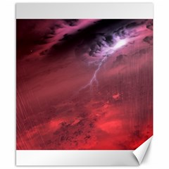 Storm Clouds And Rain Molten Iron May Be Common Occurrences Of Failed Stars Known As Brown Dwarfs Canvas 8  X 10