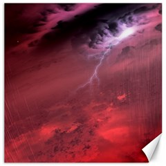 Storm Clouds And Rain Molten Iron May Be Common Occurrences Of Failed Stars Known As Brown Dwarfs Canvas 12  X 12