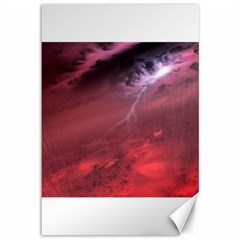 Storm Clouds And Rain Molten Iron May Be Common Occurrences Of Failed Stars Known As Brown Dwarfs Canvas 12  X 18