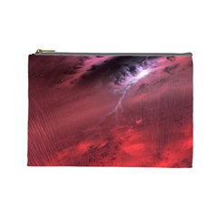 Storm Clouds And Rain Molten Iron May Be Common Occurrences Of Failed Stars Known As Brown Dwarfs Cosmetic Bag (large)
