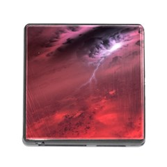 Storm Clouds And Rain Molten Iron May Be Common Occurrences Of Failed Stars Known As Brown Dwarfs Memory Card Reader (square)