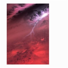 Storm Clouds And Rain Molten Iron May Be Common Occurrences Of Failed Stars Known As Brown Dwarfs Small Garden Flag (two Sides)