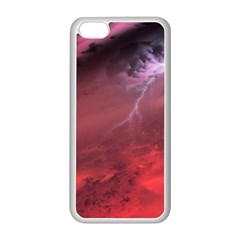 Storm Clouds And Rain Molten Iron May Be Common Occurrences Of Failed Stars Known As Brown Dwarfs Apple Iphone 5c Seamless Case (white)