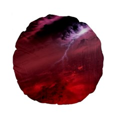 Storm Clouds And Rain Molten Iron May Be Common Occurrences Of Failed Stars Known As Brown Dwarfs Standard 15  Premium Flano Round Cushions