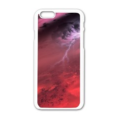 Storm Clouds And Rain Molten Iron May Be Common Occurrences Of Failed Stars Known As Brown Dwarfs Apple Iphone 6/6s White Enamel Case