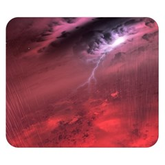 Storm Clouds And Rain Molten Iron May Be Common Occurrences Of Failed Stars Known As Brown Dwarfs Double Sided Flano Blanket (small)