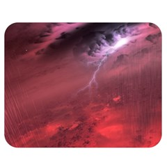 Storm Clouds And Rain Molten Iron May Be Common Occurrences Of Failed Stars Known As Brown Dwarfs Double Sided Flano Blanket (medium)