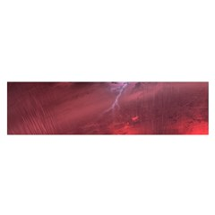 Storm Clouds And Rain Molten Iron May Be Common Occurrences Of Failed Stars Known As Brown Dwarfs Satin Scarf (oblong)