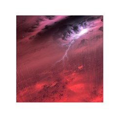 Storm Clouds And Rain Molten Iron May Be Common Occurrences Of Failed Stars Known As Brown Dwarfs Small Satin Scarf (square)