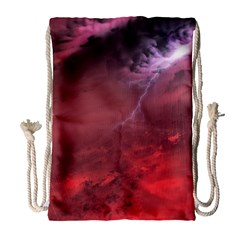 Storm Clouds And Rain Molten Iron May Be Common Occurrences Of Failed Stars Known As Brown Dwarfs Drawstring Bag (large)