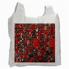 Red Circle Recycle Bag (two Side)