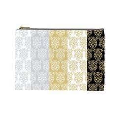 Scrapbook Digitais Estampa Arabesco Scrapbook Para Imprimir Flower Leaf Cosmetic Bag (large)