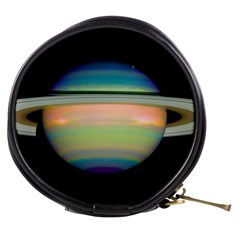 True Color Variety Of The Planet Saturn Mini Makeup Bags