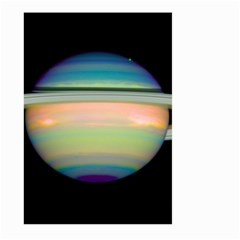 True Color Variety Of The Planet Saturn Large Garden Flag (two Sides)