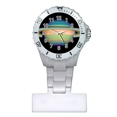 True Color Variety Of The Planet Saturn Plastic Nurses Watch