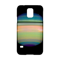 True Color Variety Of The Planet Saturn Samsung Galaxy S5 Hardshell Case
