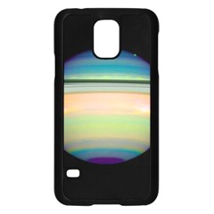 True Color Variety Of The Planet Saturn Samsung Galaxy S5 Case (black)