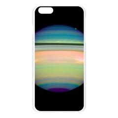 True Color Variety Of The Planet Saturn Apple Seamless iPhone 6 Plus/6S Plus Case (Transparent)