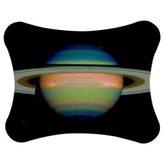 True Color Variety Of The Planet Saturn Jigsaw Puzzle Photo Stand (Bow)