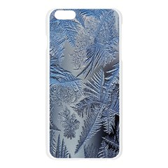 Frost Leafe Apple Seamless iPhone 6 Plus/6S Plus Case (Transparent)