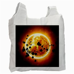 Sun Man Recycle Bag (two Side)