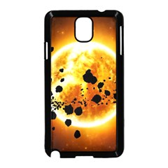 Sun Man Samsung Galaxy Note 3 Neo Hardshell Case (black)