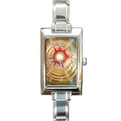 The Painters Universe Rectangle Italian Charm Watch