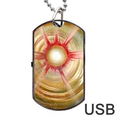 The Painters Universe Dog Tag Usb Flash (two Sides)