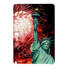The Statue Of Liberty And 4th Of July Celebration Fireworks Samsung Galaxy Tab Pro 10 1 Hardshell Case