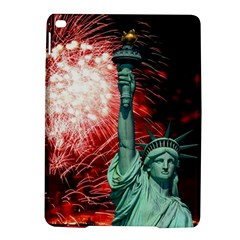 The Statue Of Liberty And 4th Of July Celebration Fireworks Ipad Air 2 Hardshell Cases