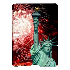 The Statue Of Liberty And 4th Of July Celebration Fireworks Samsung Galaxy Tab S (10 5 ) Hardshell Case