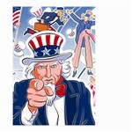 United States Of America Celebration Of Independence Day Uncle Sam Small Garden Flag (Two Sides) Front