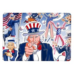 United States Of America Celebration Of Independence Day Uncle Sam Samsung Galaxy Tab 10 1  P7500 Flip Case