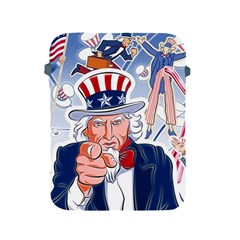 United States Of America Celebration Of Independence Day Uncle Sam Apple Ipad 2/3/4 Protective Soft Cases