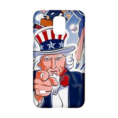 United States Of America Celebration Of Independence Day Uncle Sam Samsung Galaxy S5 Hardshell Case