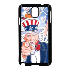 United States Of America Celebration Of Independence Day Uncle Sam Samsung Galaxy Note 3 Neo Hardshell Case (black)