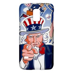 United States Of America Celebration Of Independence Day Uncle Sam Galaxy S5 Mini