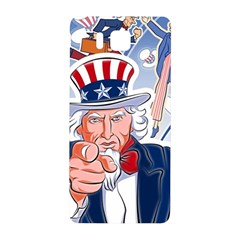 United States Of America Celebration Of Independence Day Uncle Sam Samsung Galaxy Alpha Hardshell Back Case