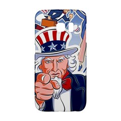 United States Of America Celebration Of Independence Day Uncle Sam Galaxy S6 Edge