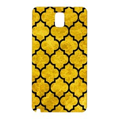 Tile1 Black Marble & Yellow Marble (r) Samsung Galaxy Note 3 N9005 Hardshell Back Case