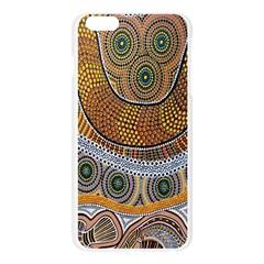 Batik Apple Seamless iPhone 6 Plus/6S Plus Case (Transparent)