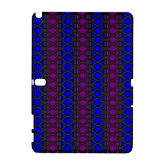 Diamond Alt Blue Purple Woven Fabric Galaxy Note 1