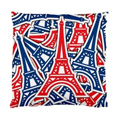Eiffel Tower Paris Perancis Standard Cushion Case (two Sides)