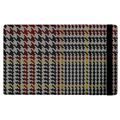 Glen Woven Fabric Apple Ipad 2 Flip Case