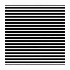 Horizontal Stripes Black Medium Glasses Cloth (2 Side)