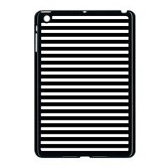 Horizontal Stripes Black Apple Ipad Mini Case (black)