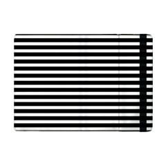 Horizontal Stripes Black Ipad Mini 2 Flip Cases